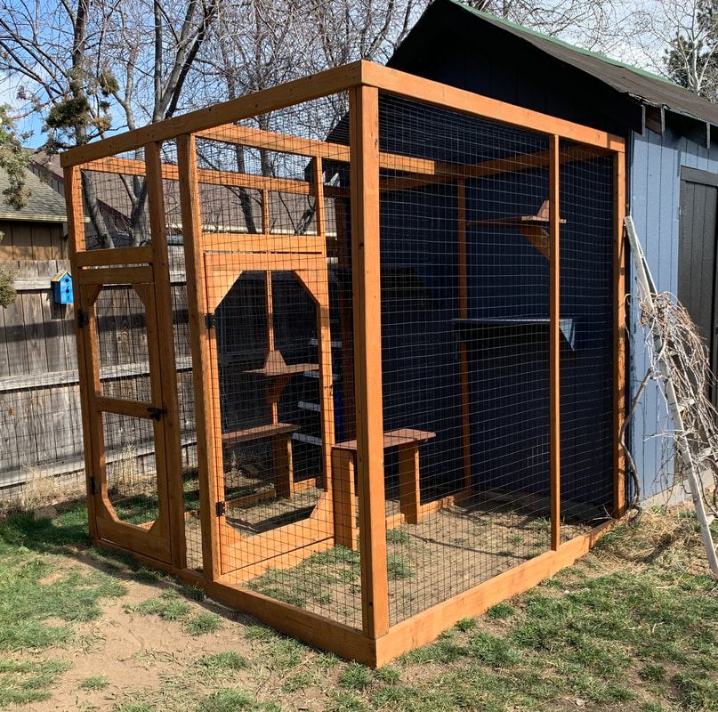 Two-room catio