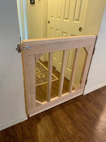 Custom baby gate, dog gate